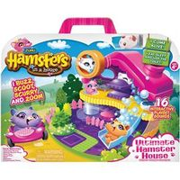 Conjunto Hamsters in a House Mansão Hamster Candide