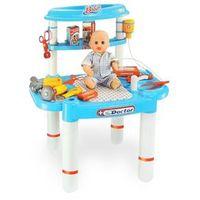 Kit Brinquedo Médico Infantil com Bancada Belfix