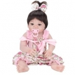 Boneca Laura Baby Pink Flower - Bebe Reborn