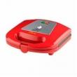 Sanduicheira Mallory Disney Mickey Mouse, Preta e Vermelha, B96800851, Potência de 750W, 110V