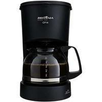 Cafeteira Elétrica Britânia CP14 até 14 Cafés - Preta 220V
