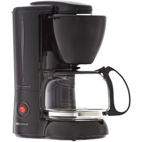 Cafeteira Elétrica Mondial Bella Arome Black 26 C - 04 220V