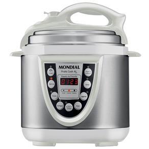 Panela de Pressão Elétrica Mondial Pratic Cook 4 Litros PE 29 - Branca 220V