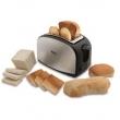 Torradeira French Toast Philco com 8 Níveis de Tostagem - Inox / Preto 220V