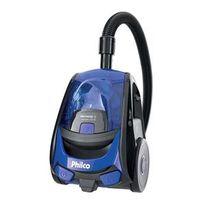 Aspirador de Pó Philco PH1410 1400W - Preto / Azul 220V