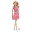 Boneca Barbie com Anel Vestido Rosa / Azul - T7584 - Mattel