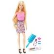 Boneca Barbie - Fashion - Barbie com Acessórios - Cabelos Coloridos - Mattel