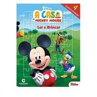 Mickey Livro com Quebra - Cabeça Disney - Culturama 270062