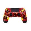 PS4 - Controle Dual Shock 4 - Pintura Customizada - Flash