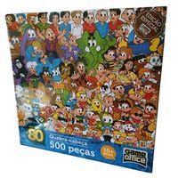 Quebra cabeça turma da Mônica 500 peças Edição especial Toyster