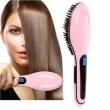 Escova Alisadora Fast Hair Straightener Rosa BIVOLT