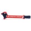 Escova Grunge Brush - Finish Line vermelho