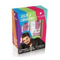 Kit Vitalcap Solta a Cabeleira BB Cream Shampoo + Condicionador