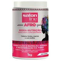 Máscara Concentrada AFRO Hidra - Nutrição Salon Line 1 kg.