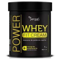 Yenzah Power Whey Fit Cream - Máscara de Potência Capilar