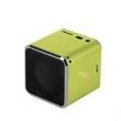 Caixa de som sem fio - Matcheasy telefone computador jogador cartão mini alto - falante portátil da música U disco verde