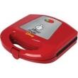 Sanduicheira Elétrica Disney Mickey Vermelha e Antiaderente - Mallory 220V