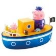 Veículo e Mini Figuras - Peppa Pig - Barco do Vovô Pig - DTC