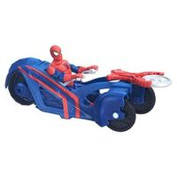 Veículo Spider Man WC 6 City Cicle - Hasbro