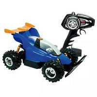 Carro de Controle Remoto Candide Garagem SA Fighter com 7 Funções - Azul