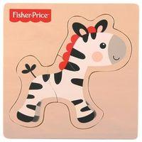 Fisher - Price - Meu Primeiro Quebra - Cabeça Zebra - Fun