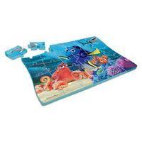 Quebra - Cabeça de Plástico - Procurando Dory - Disney - 30 Peças - Elka