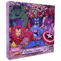 Quebra - cabeça Marvel Clássicos 500 Peças - Toyster
