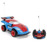 Carro de Controle Remoto Candide Spider - Man Instinct com 7 Funções - Vermelho / Azul