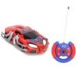 Carro de Controle Remoto Candide Spider - Man Web Crasher com 7 Funções - Vermelho / Azul