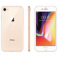iPhone 8 Apple com 256GB, Tela Retina HD de 4,7, iOS 11, Câmera de 12 MP, Resistente à Água, Wi - Fi, 4G LTE e NFC - Dourado