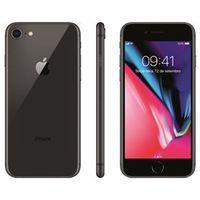 iPhone 8 Apple com 64GB, Tela Retina HD de 4,7, iOS 11, Câmera de 12 MP, Resistente à Água, Wi - Fi, 4G LTE e NFC - Cinza - Espa
