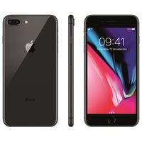 iPhone 8 Apple Plus com 256GB, Tela Retina HD de 5,5, iOS 11, Dupla Câmera Traseira, Resistente à Água, Wi - Fi, 4G LTE e NFC -