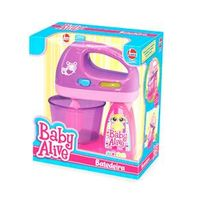 Acessórios de Casinha - Baby Alive - Batedeira - Roxo e Rosa - Líder