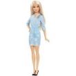 Boneca Barbie Fashionista - Vestido Jeans - Mattel