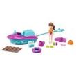 Boneca e Veículo - Polly Pocket - Lila e Jet Ski - Mattel