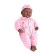 Boneca Negra Bebê Coleção Com Lacinho 35085 - Divertoys