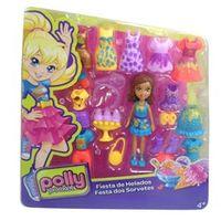 Boneca Polly Pocket com Roupinhas - Festa dos Sorvetes - Mattel