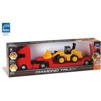 Caminhão com Carregadeira Diamond Truck - Roma Brinquedos