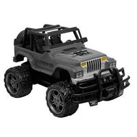 Carrinho de Controle Remoto - Garagem S / A - Jeep Overpass - Cinza - Candide