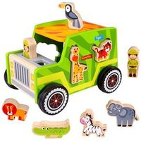 Carrinho Safari - Tooky Toy