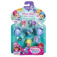 Conjunto de 8 Mini Bonecas - Shimmer & Shine - Pack 2 - Fisher - Price