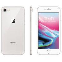 iPhone 8 Apple com 256GB, Tela Retina HD de 4,7, iOS 11, Câmera de 12 MP, Resistente à Água, Wi - Fi, 4G LTE e NFC - Prateado