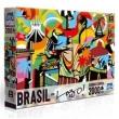 Quebra - Cabeça - 2000 Peças - Brasil por Lobo - Toyster