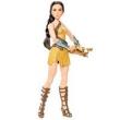 Boneca Articulada Deluxe - DC Comics - Wonder Woman - Princesa Diana Traje de Treino - Mattel