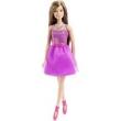 Boneca Barbie Básica Lilás Glitz - Mattel