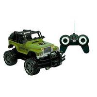 Carrinho de Controle Remoto - Garagem S / A - Jeep Overpass - Verde - Candide