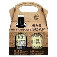 Kit QOD Barber Shop Beer Shampoo 3 em 1 240ml + Sabonete 200g