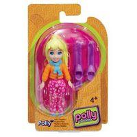 Polly Pocket Básico - Boneca Polly Esquiadora - Mattel