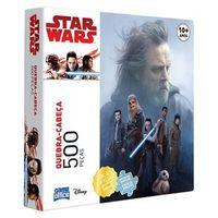 Quebra - Cabeça - Star Wars - Episódio VIII - 500 Peças - Game Office