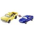 Veículos Hot Wheels - Disney Cars 2 - Pack com 2 Veículos - Christina Wheeland e Jay W - Mattel